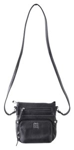 Giani Bernini Pebbled Leather Cross Body Bag