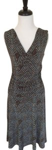 BCBGMAXAZRIA short dress Multicolor Bcbg Print Sleeveless on Tradesy