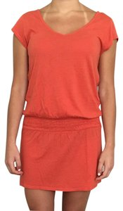 Lucky Brand short dress Orange on Tradesy
