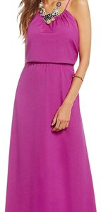 Bright mauve Maxi Dress by Gianni Bini