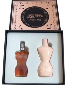 Jean Paul Gaultier Perfume Set, with Real Music Box
