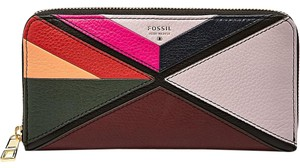 Fossil Sydney Applique Zip Clutch