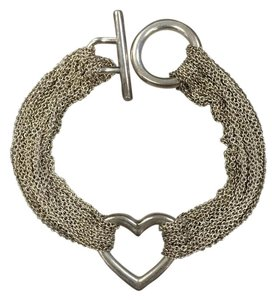 Tiffany & Co. Mesh Heart Bracelet
