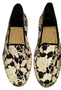 Cole Haan Black/Ivory Flats