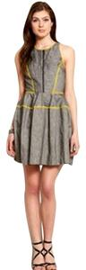 A|X Armani Exchange short dress grey Ax Tank Zipper on Tradesy
