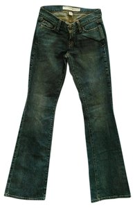 Abercrombie & Fitch Denim Flare Blue Boot Cut Jeans-Medium Wash