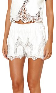 Endless Rose Dress Shorts White
