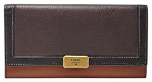 Fossil Emerson Colorblock Flap Wallet