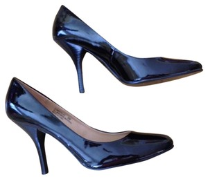 Nine West blk patent leather Pumps