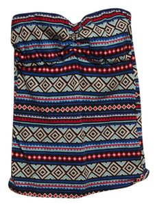 Rue 21 Sleeveless Multi-colored Top Mult-Colored