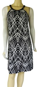 Calvin Klein short dress Black and white Shift & Slinky on Tradesy