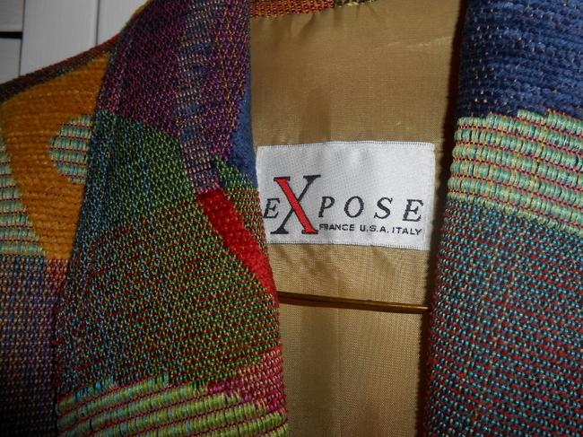 Expose Chenille multi-colored Jacket