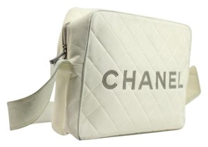Chanel Cc Carryall Camera Shoulder Bag