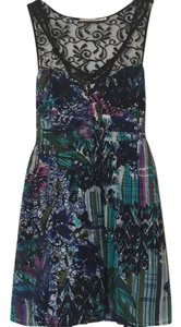 Pins and Needles short dress Multicolor on Tradesy