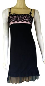 A.B.S. by Allen Schwartz Lace Mini Pink Dress
