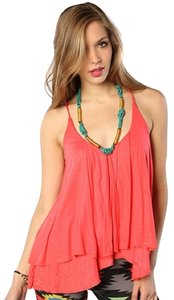 Jack by BB Dakota Top Pink Hibiscus