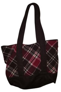 Aéropostale Aeropostale Aero Tote in Brown, red, and white