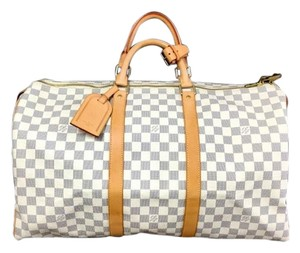 Louis Vuitton Damier Azur Travel Bag