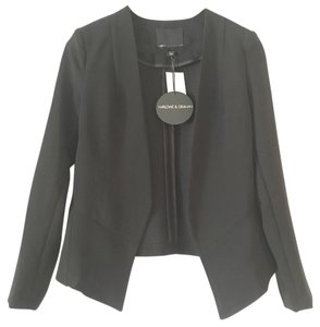 Harlowe & Graham Black Blazer