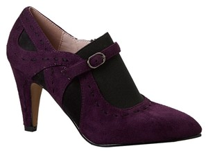 Bellini Suede Violet Slip-on Purple Pumps