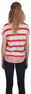 Jack by BB Dakota T Shirt Red & white Stripe
