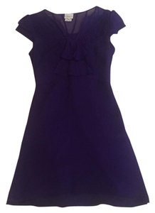 Karen Millen short dress Purple on Tradesy