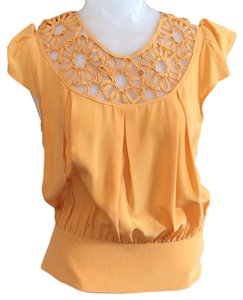 Madison Marcus Top Orange