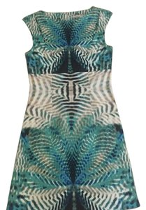 Karen Millen short dress Acqua blue on Tradesy