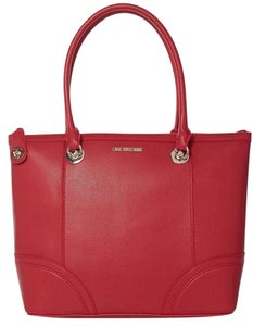 Love Moschino Sell Tote in red