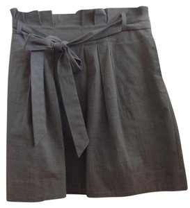 Theory Mini Skirt Gray