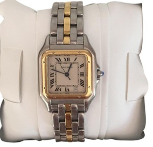 Cartier Mid-Size Two Tone Panthere Watch