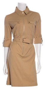 Michael Kors short dress Tan on Tradesy