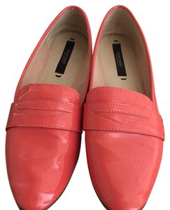 Zara Slip-on Light Bright Coral Flats