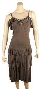 Brown Maxi Dress by Marc by Marc Jacobs Rayon Size Xs