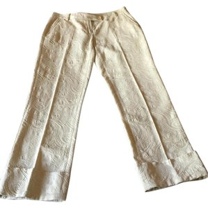 Roberto Cavalli Straight Pants Cream