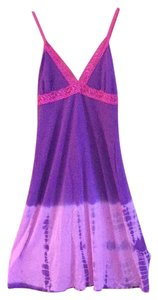 Purple / fuscia Maxi Dress by LOVE TANJANE