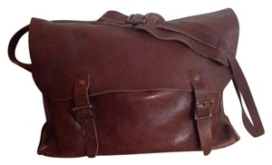 J.Crew Brown Messenger Bag