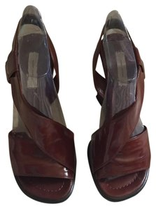 Marc Jacobs Rustic brown Wedges