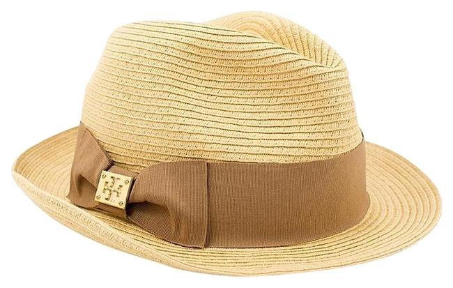 Item - Natural/Sand Classic Grossgrain Fedora - Natural/Sand - One Size Hat