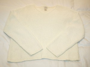J. Jill Cream Color Soft Sweater