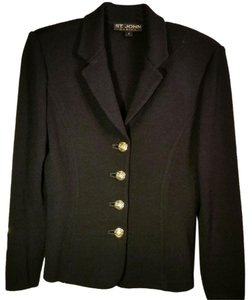 St. John Knit Basic black Blazer