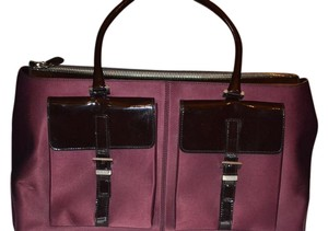 Tod's Satchel in Burgundy