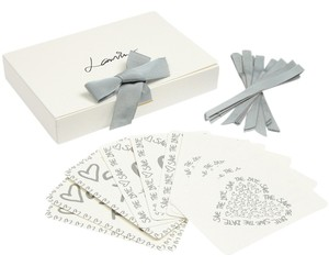 Lanvin Set of 20 Save the Date cards
