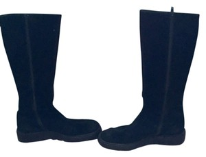 Joan & David Mid-calf Suede Fall & black Boots