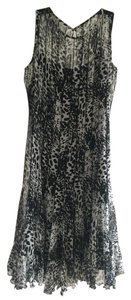 Teri Jon Animal Print Size 4 Size 6 Dress