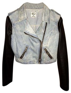 Carmar Blue and black Womens Jean Jacket