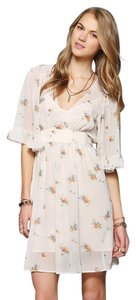 Betsey Johnson short dress Ivory/Floral on Tradesy