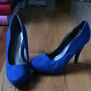 Charlotte Russe Blue Pumps