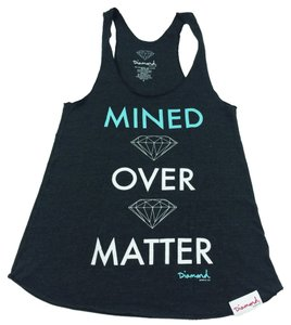 Diamond Supply Co. Top Heather Grey