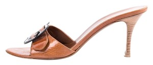 Fendi Tan Mules